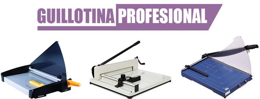 guillotina papel profesional