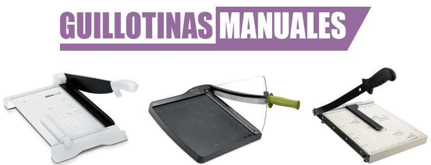 guillotina manual para papel