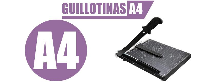 guillotina papel a4