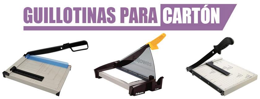 guillotina carton
