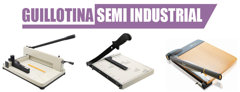 Guillotina Semi Industrial